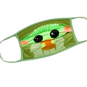 Disney cloth reusable face mask baby Yoda